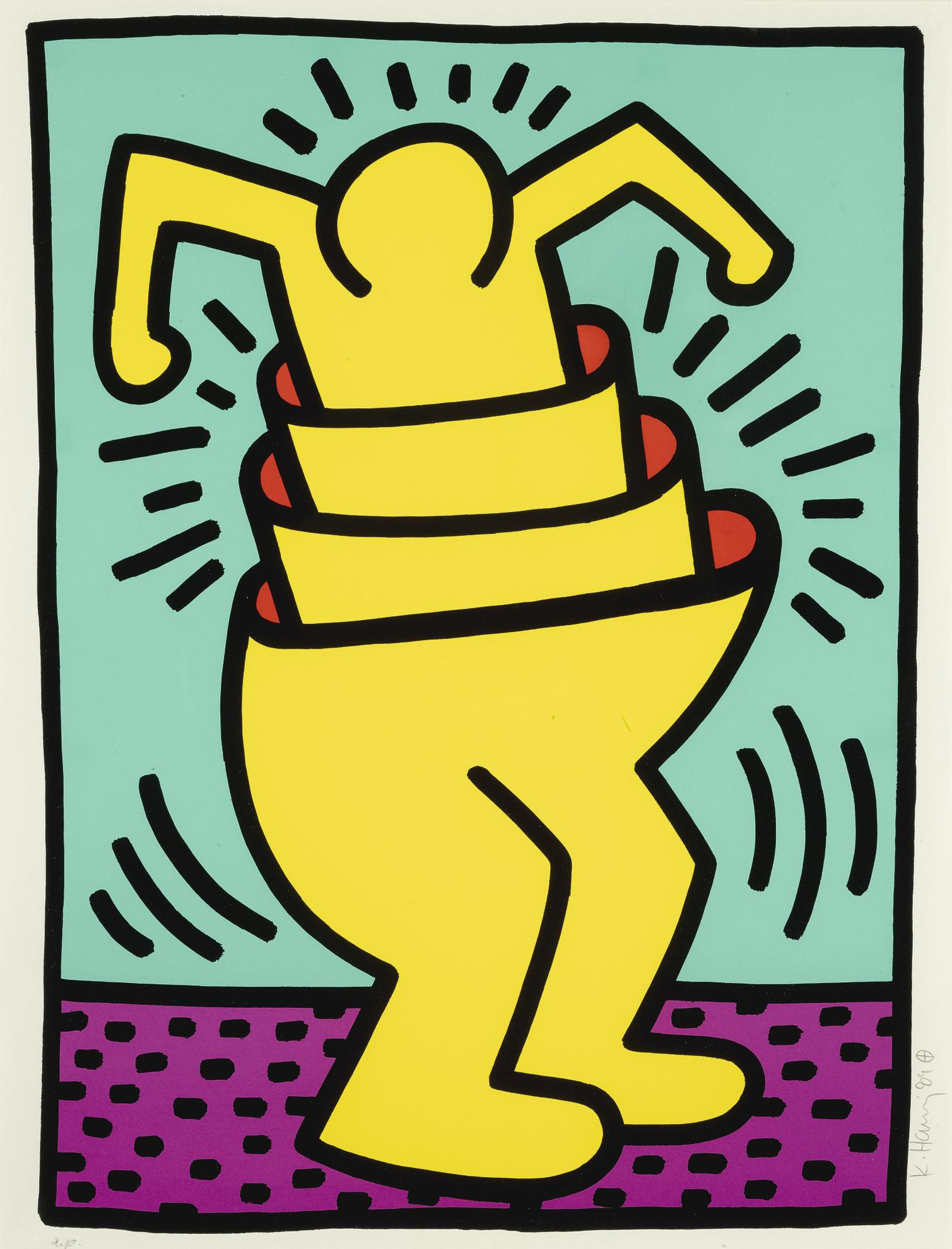 Keith Haring-Untitled (L. Pp. 116-117)-1989