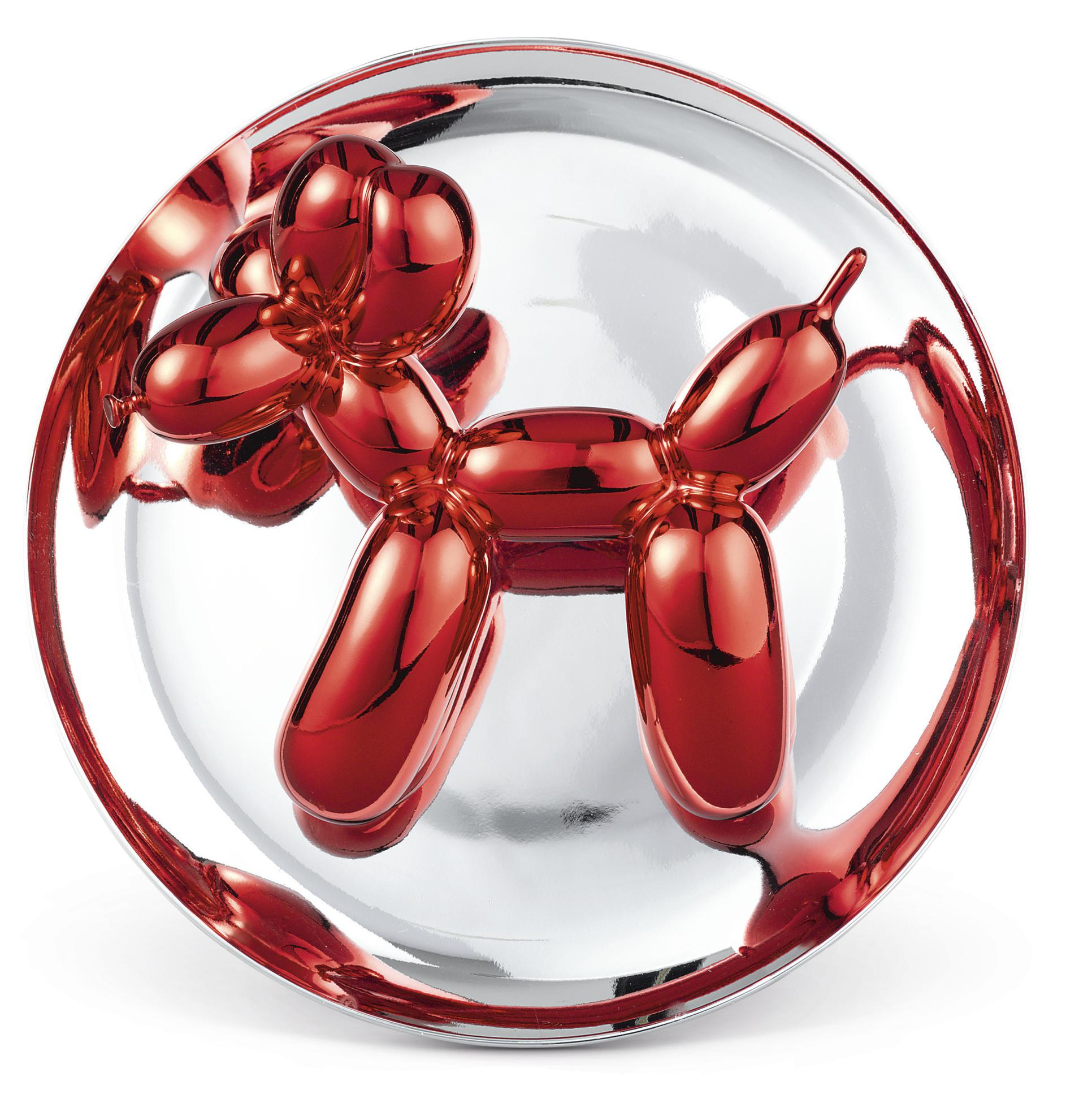Jeff Koons-Balloon Dog (Red)-1995