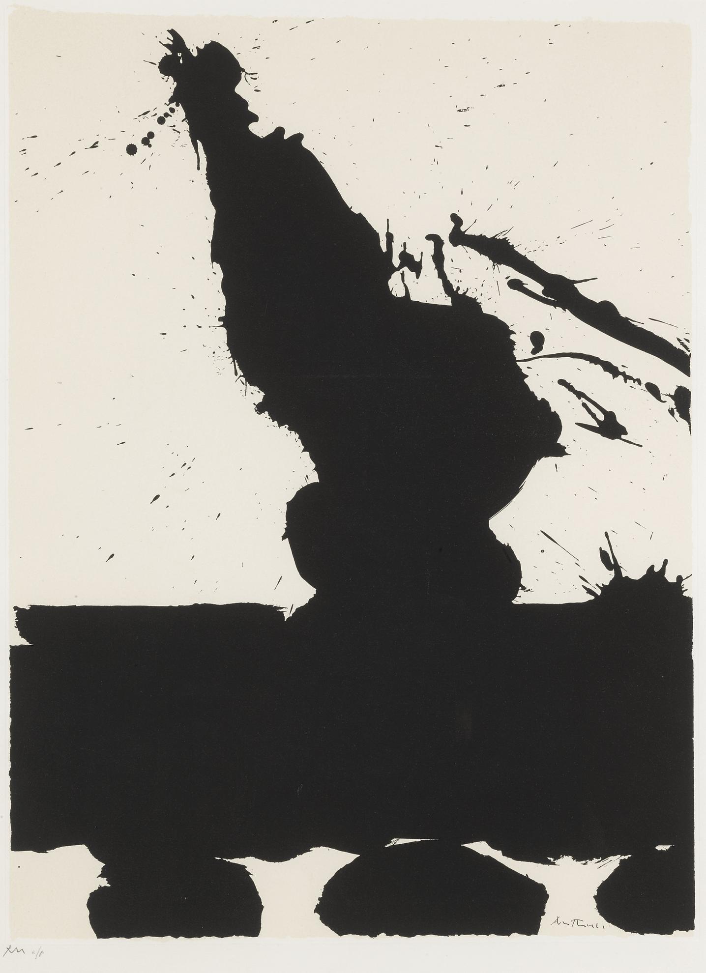 Robert Motherwell-Africa 2 (W.A.C. 70)-1970