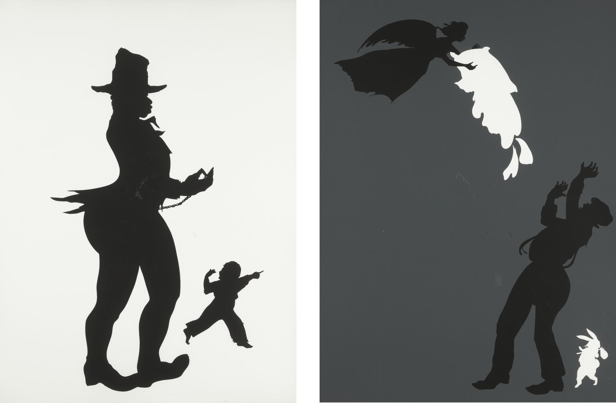 Kara Walker-The Emancipation Approximation: Two Prints-2000