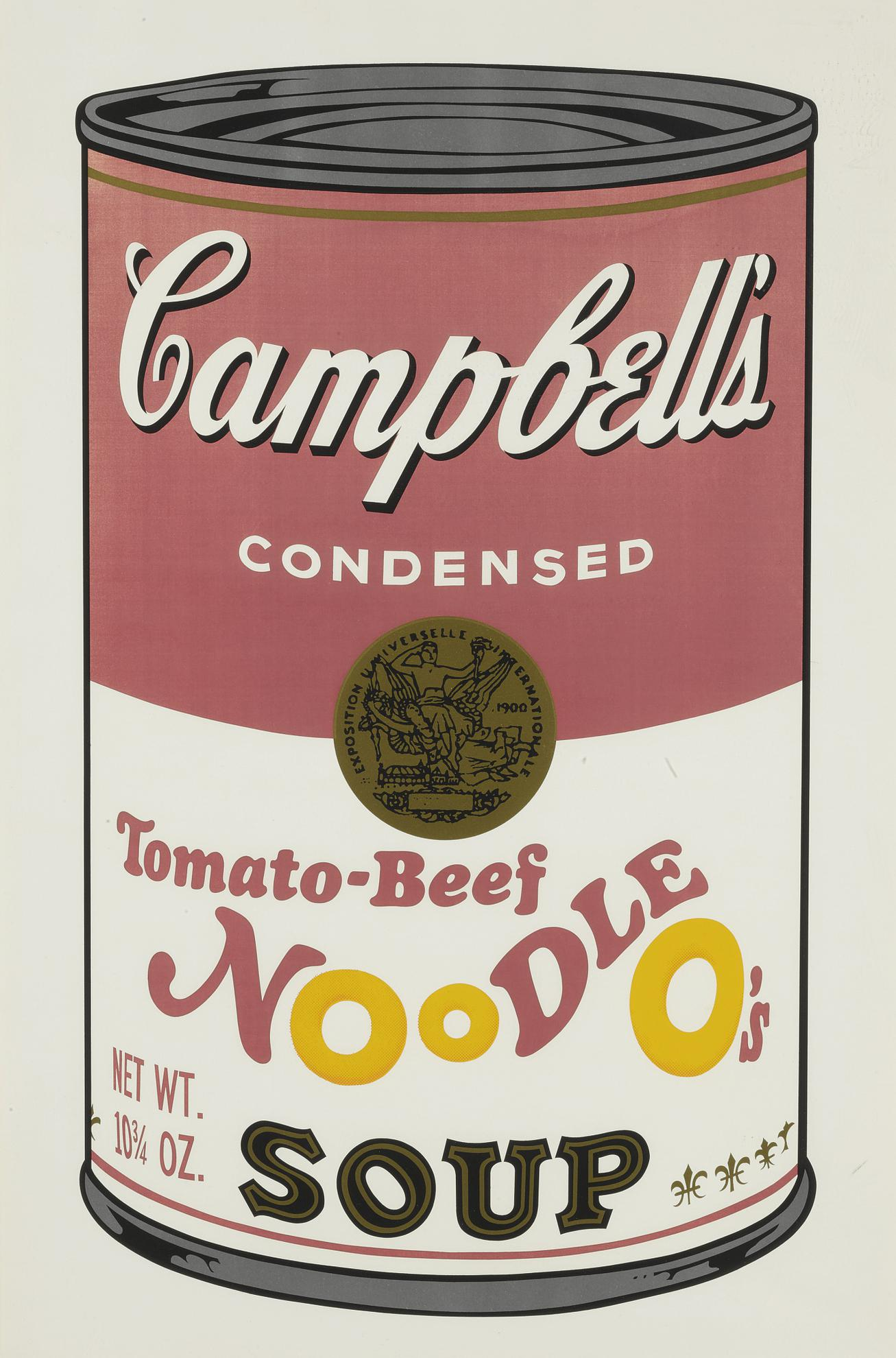 Andy Warhol-Tomato-Beef Noodle Os (F. & S. II.61)-1969