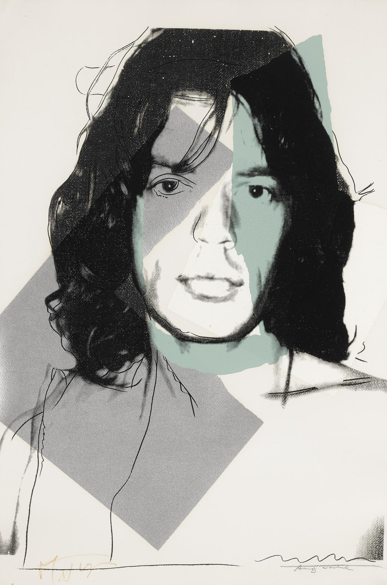 Andy Warhol-Mick Jagger (F. & S. II.138)-1975