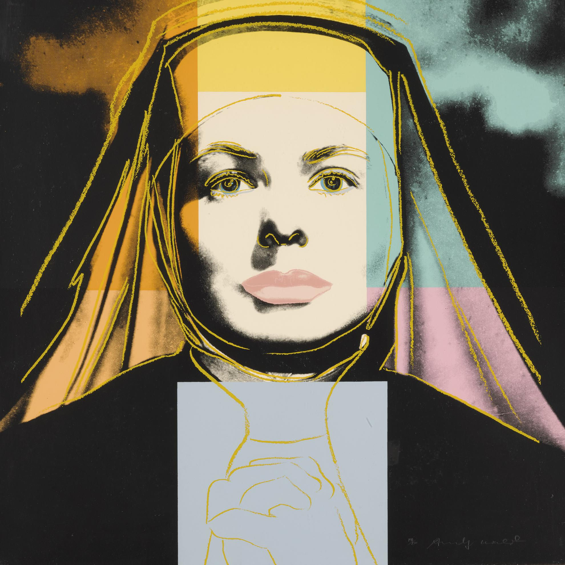 Andy Warhol-The Nun (F. & S. II.314)-1983