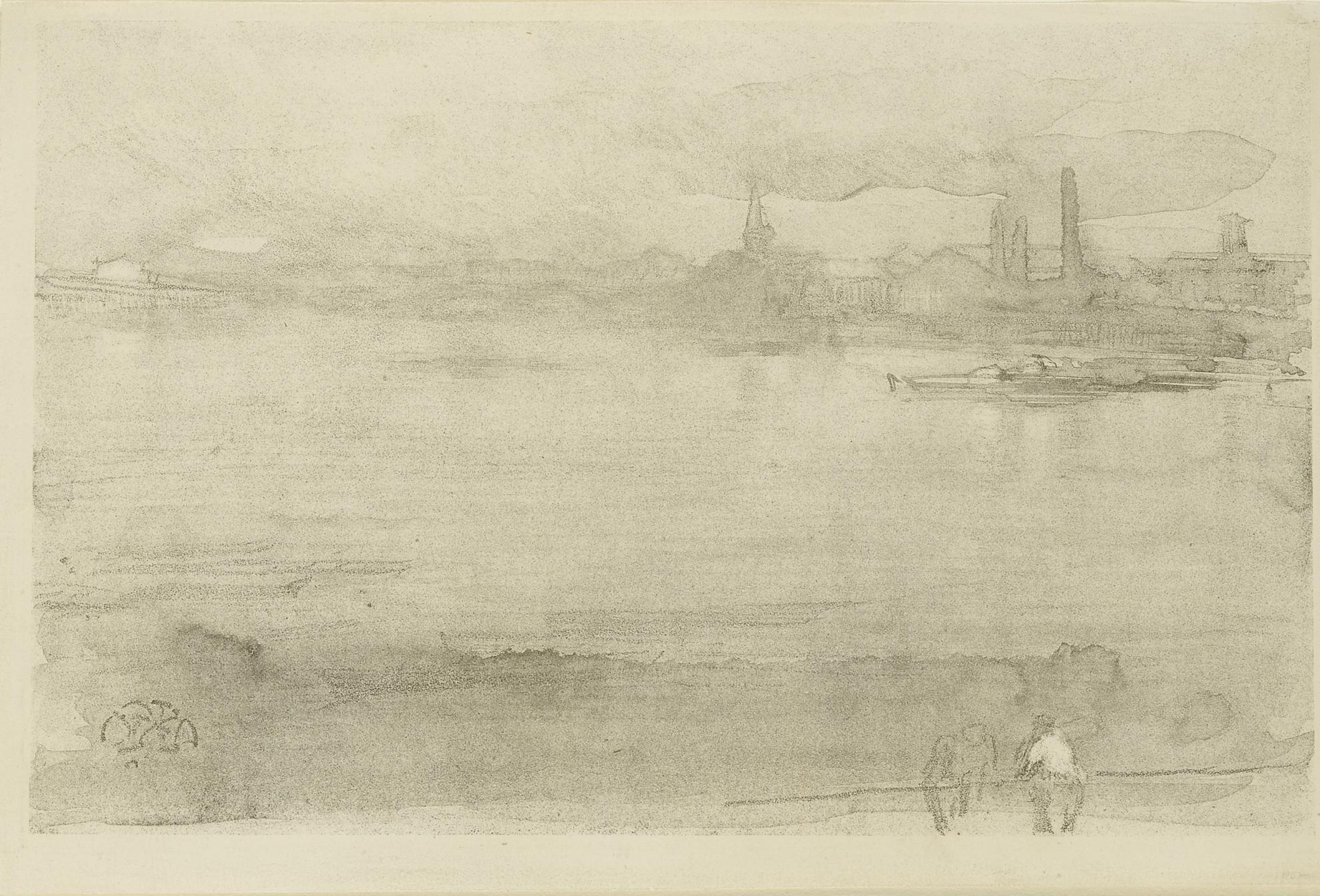James Abbott McNeill Whistler-Early Morning (Spink/Stratis/Tedeschi 9)-1878