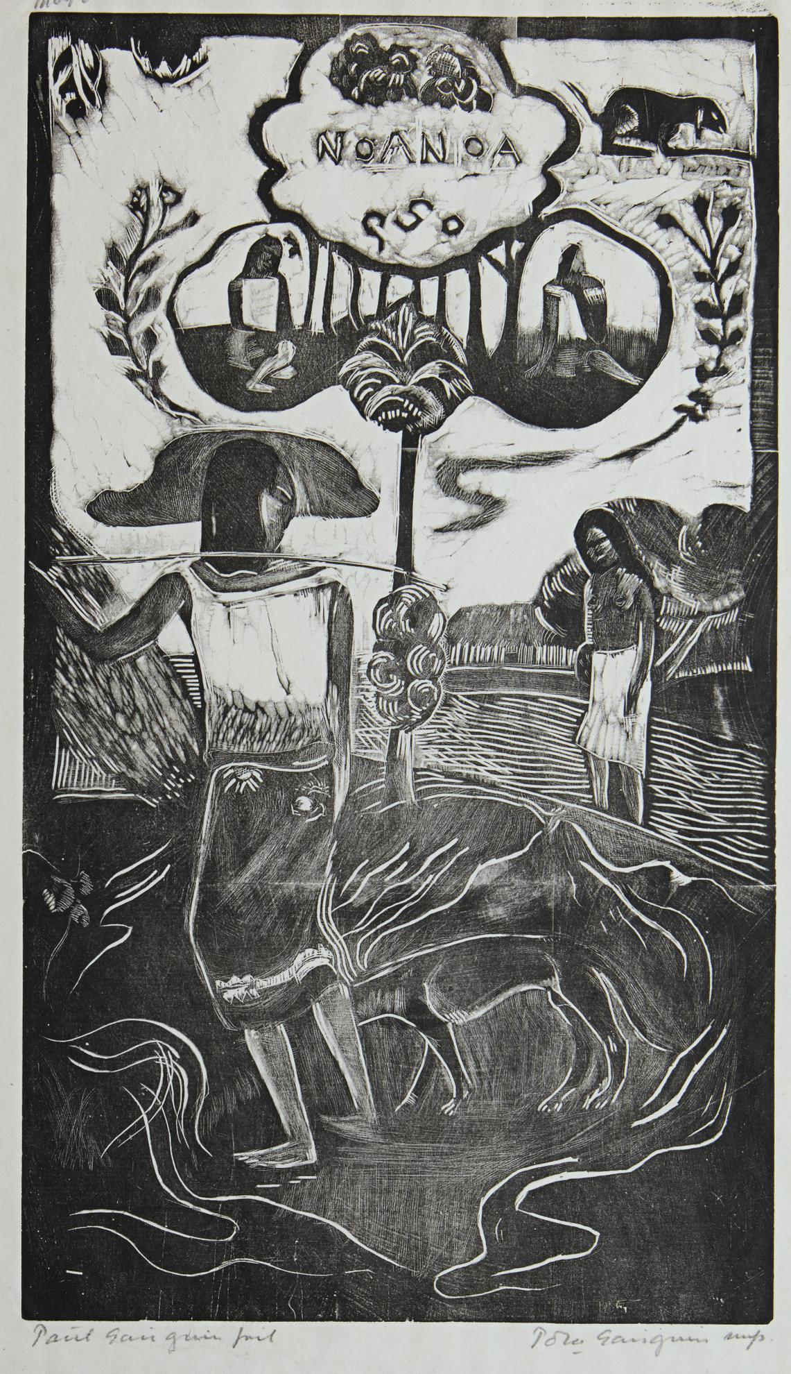 Paul Gauguin-Noa Noa (Mongan/Kornfeld/Joachim 13)-1894
