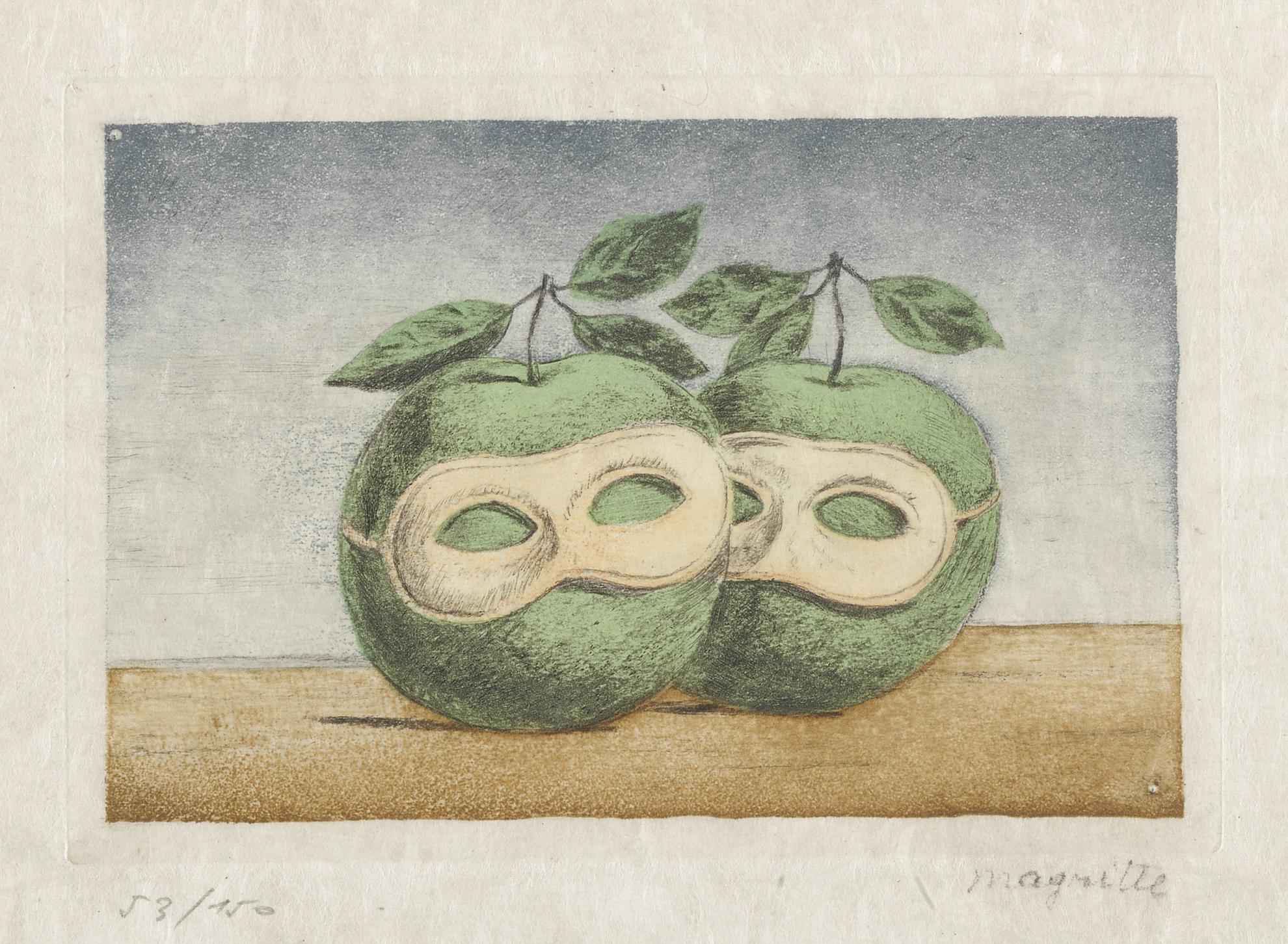 Rene Magritte-La Pretre Marie (Kaplan & Baum 13)-1967