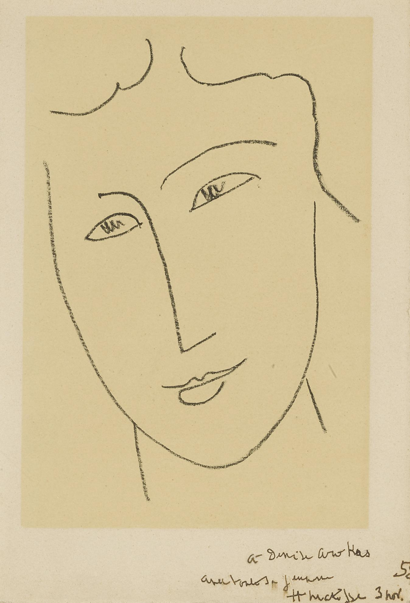 Henri Matisse-Echos: One Plate (Duthuit Books 32)-1952