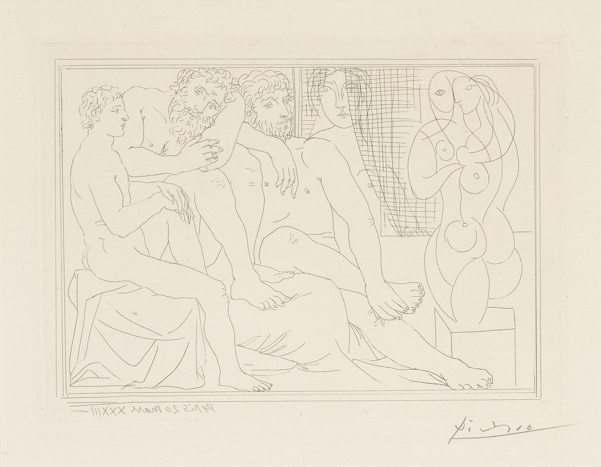 Pablo Picasso-Sculpteurs, Modeles Et Sculpture (B. 149; Ba. 301)-1933