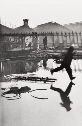 Henri Cartier-Bresson-Behind The Gare St. Lazare-1932