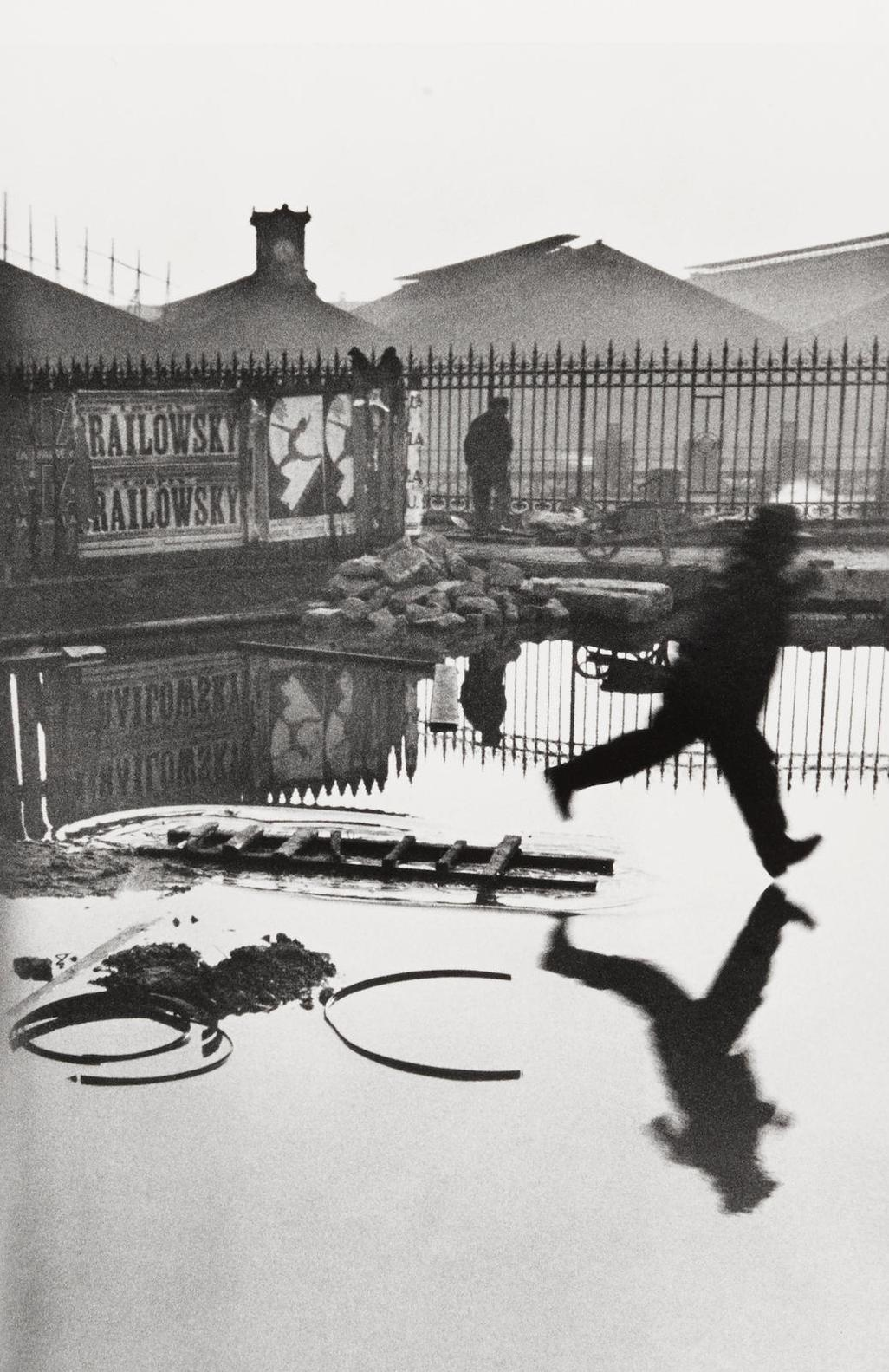 Henri Cartier-Bresson-Behind The Gare St. Lazare-1932