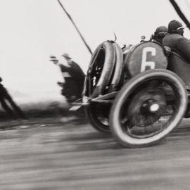 Jacques Henri Lartigue-Grand Prix De La.C.F.-1912