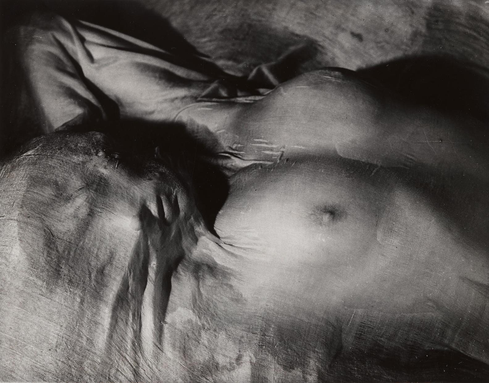 Erwin Blumenfeld-Wet Veil, Paris-1937