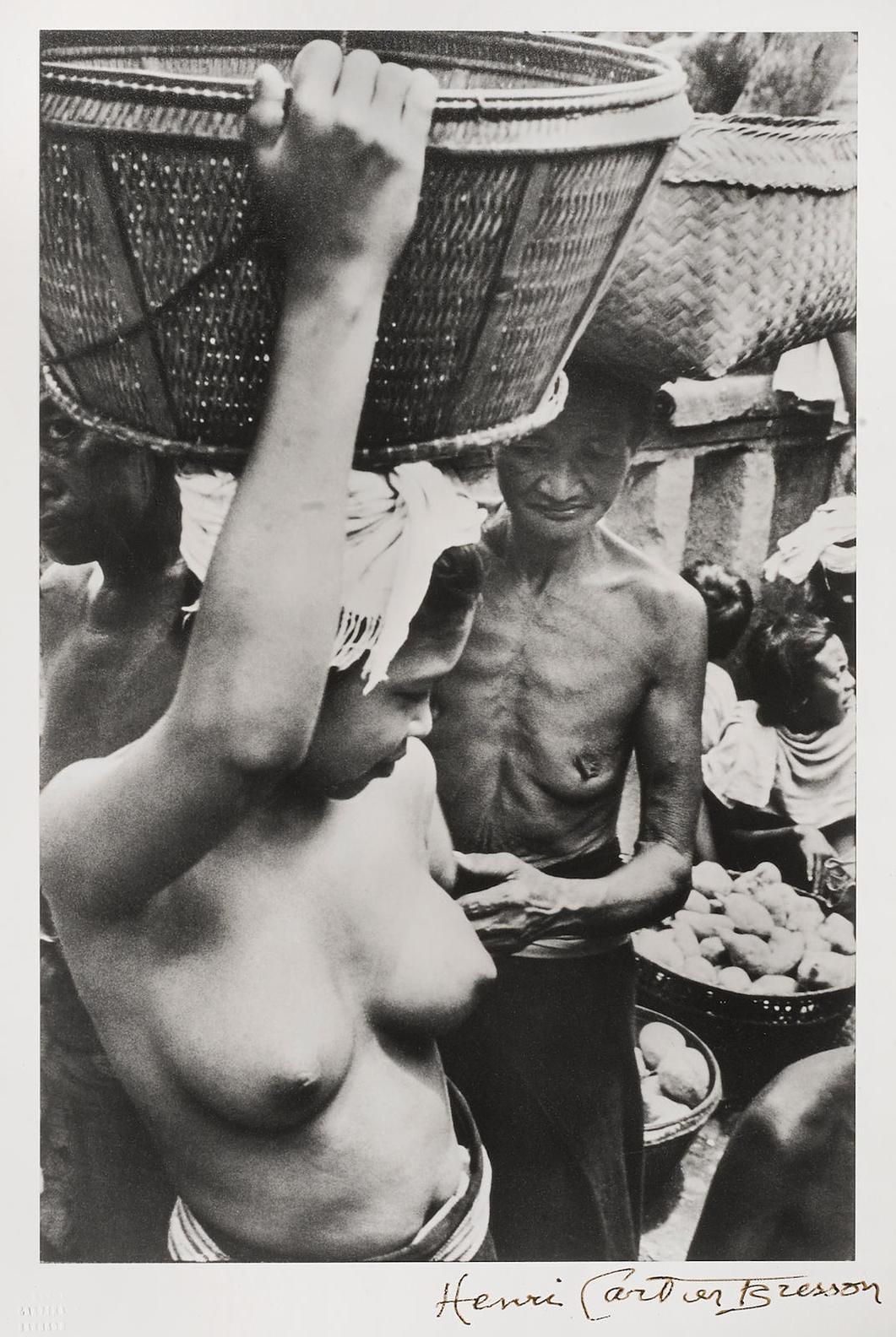 Henri Cartier-Bresson-Bali, Indonesia-1949