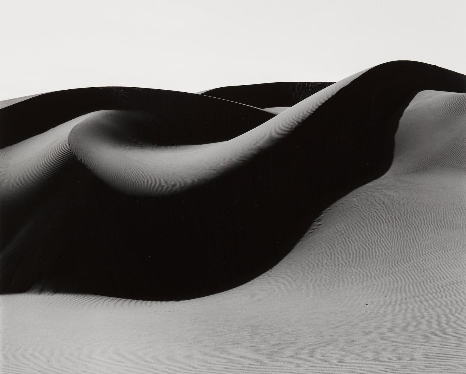 Brett Weston-Dunes, Oceano-1984