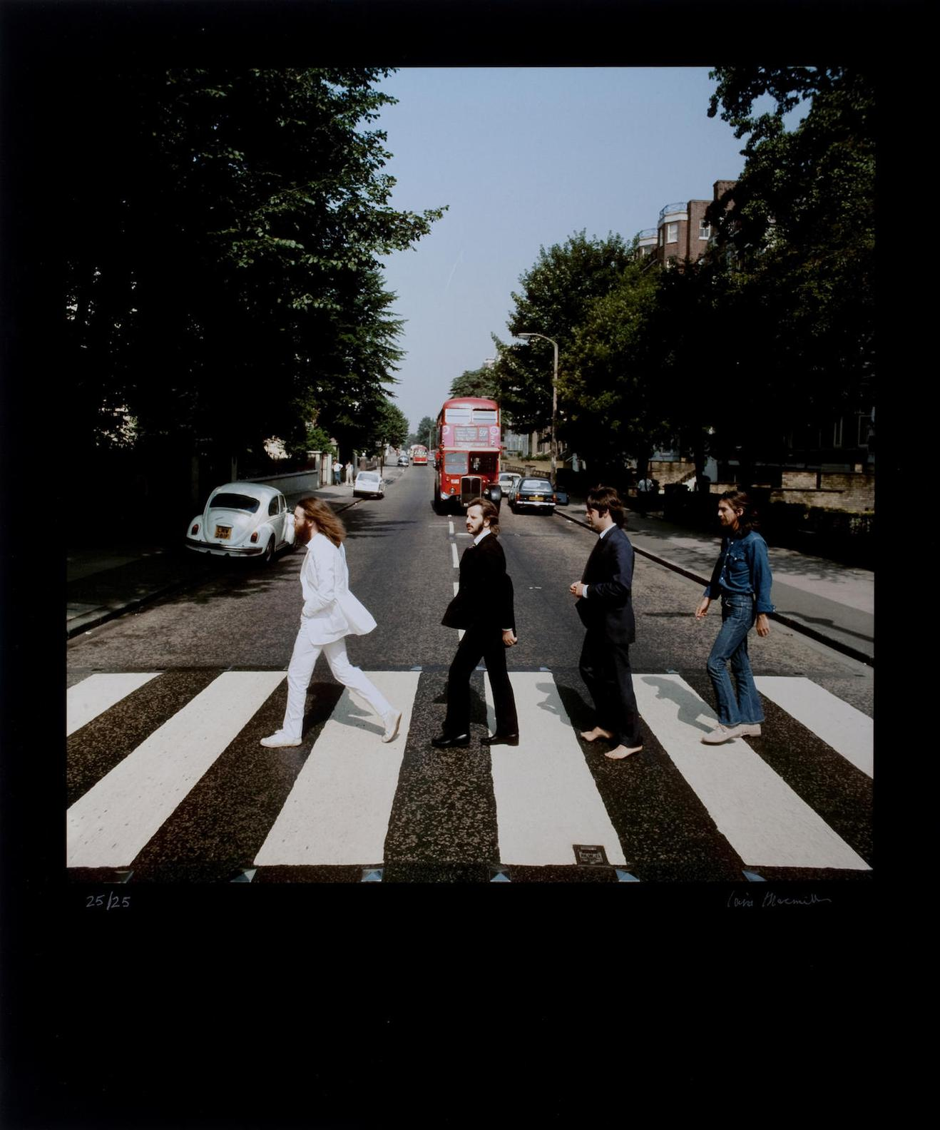 Iain Macmillan-The Beatles, Abbey Road-1969
