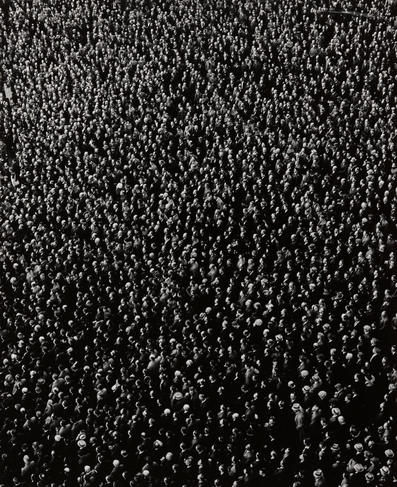 Arthur Siegel-Right Of Assembly, Cadillac Square, Detroit, Michigan-1939