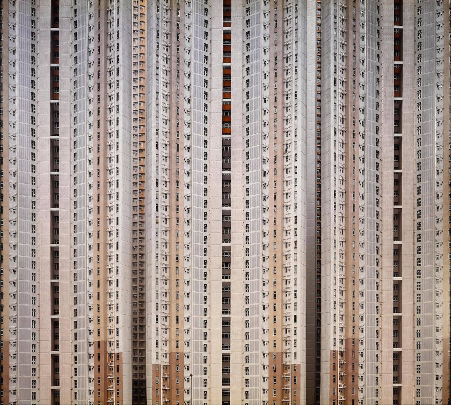 Michael Wolf-Architecture Of Density #23, Hong Kong-2004
