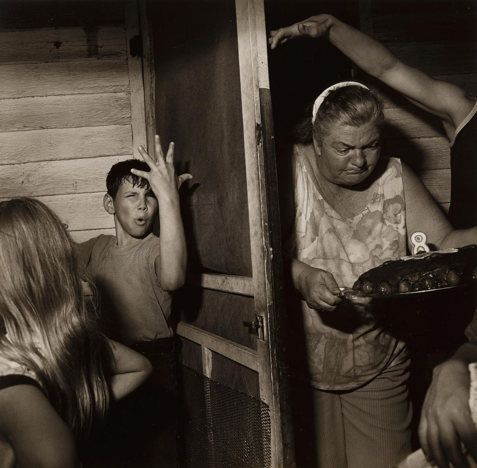 Larry Fink-Pat Sabatines 8Th Birthday Party-1977