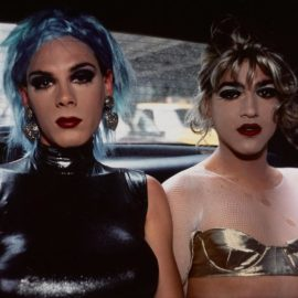 Nan Goldin-Misty And Jimmy-Paulette In A Taxi, NYC-1991