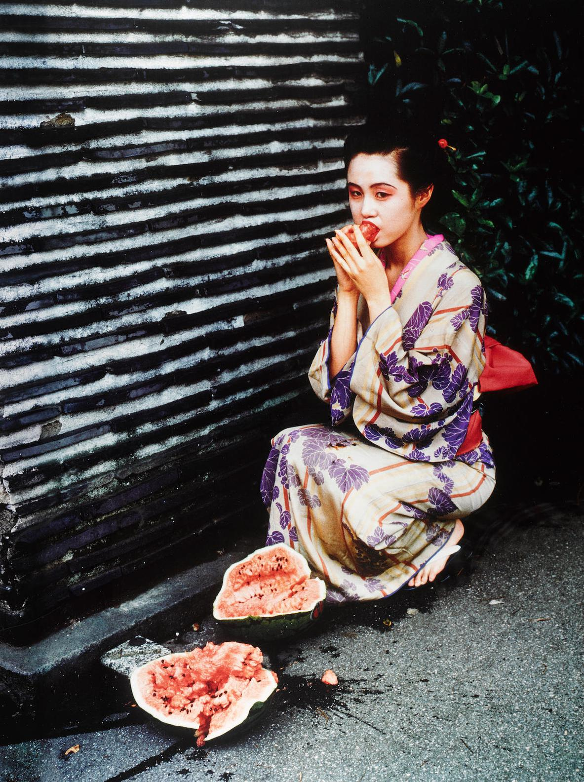 Nobuyoshi Araki-Untitled (Colorscape)-1991