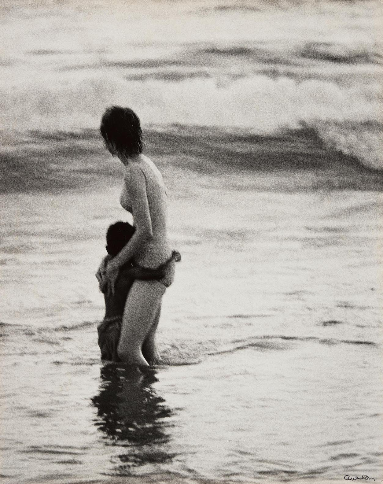 Richard Avedon-Santa Monica Beach #2-1963