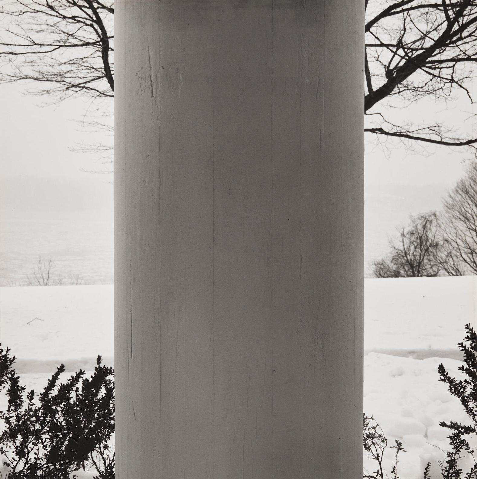 Robert Mapplethorpe-Winter Landscape (Pillar And Tree)-1979