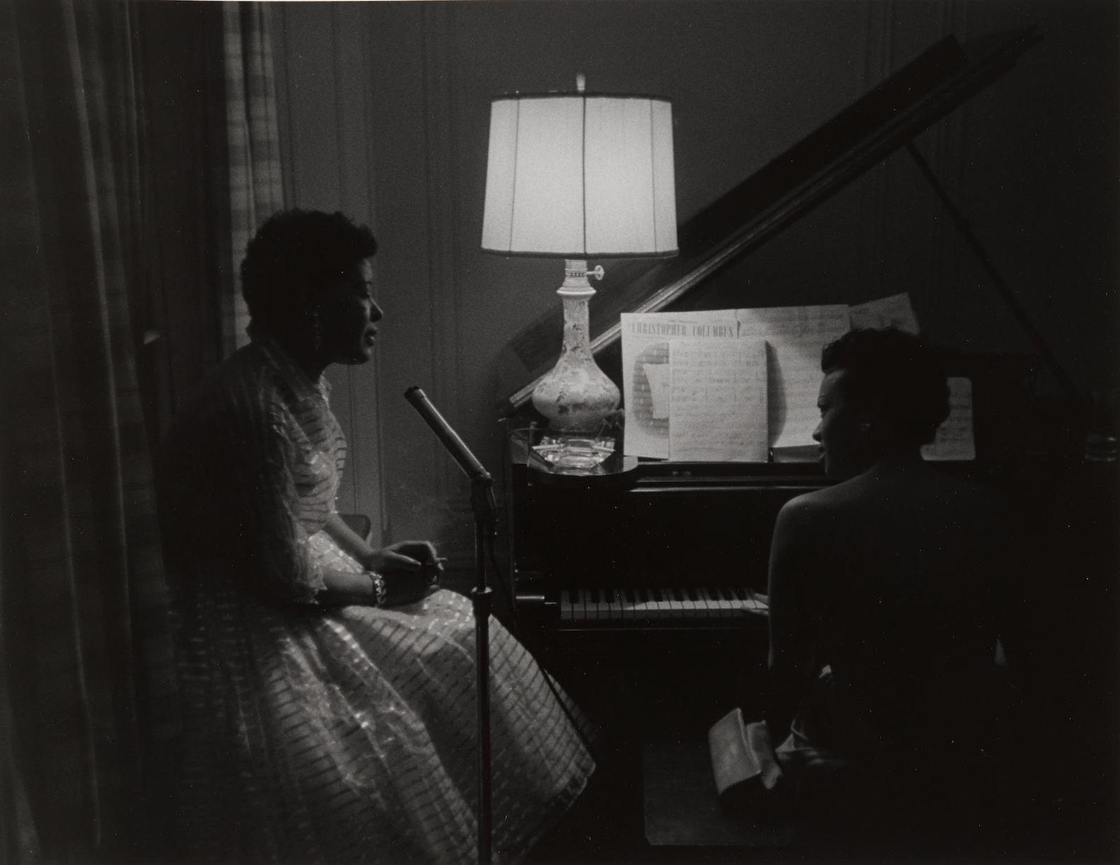 Roy DeCarava-Billie Holliday And Hazel Scott-1957