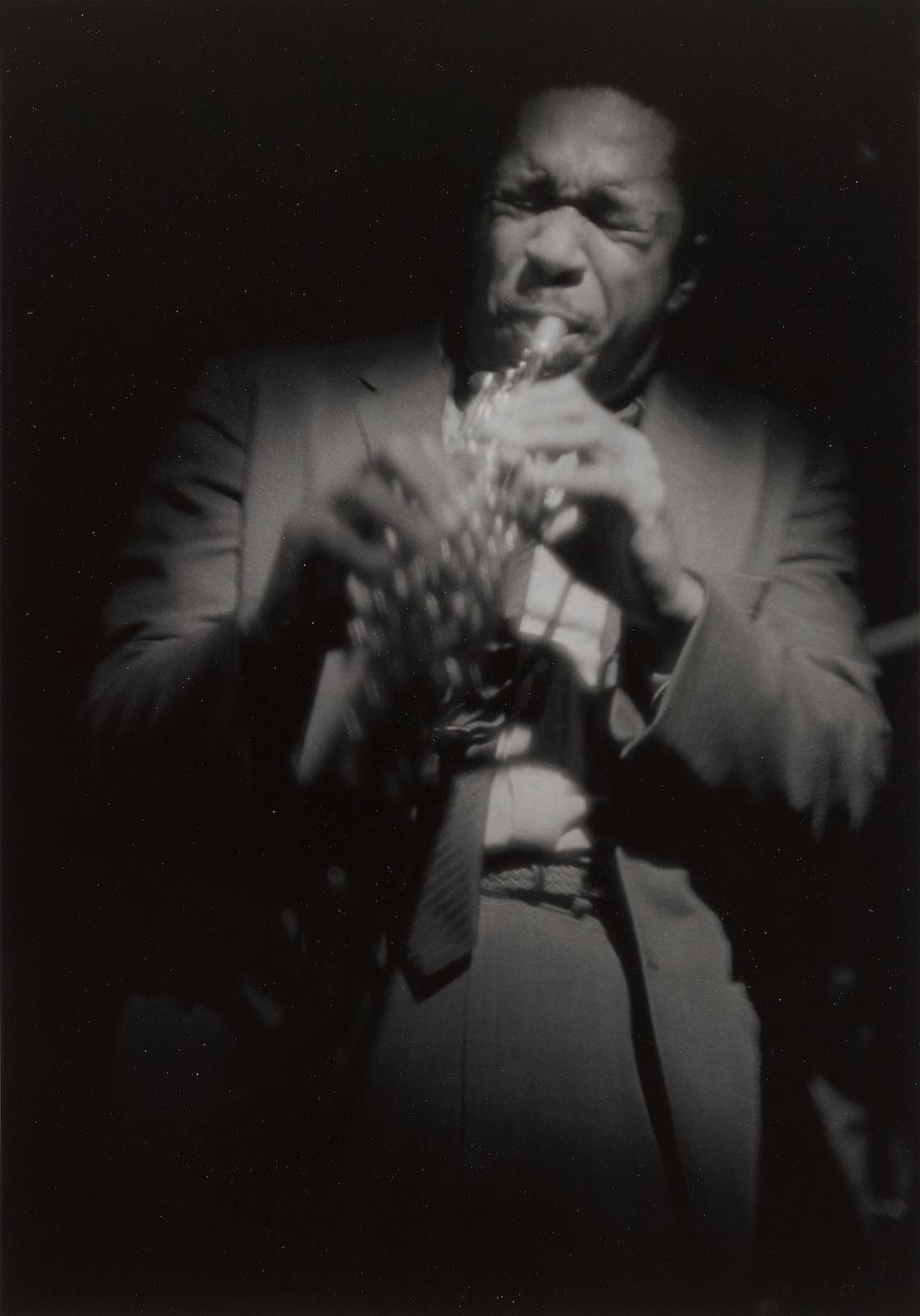 Roy DeCarava-John Coltrane On Soprano-1963