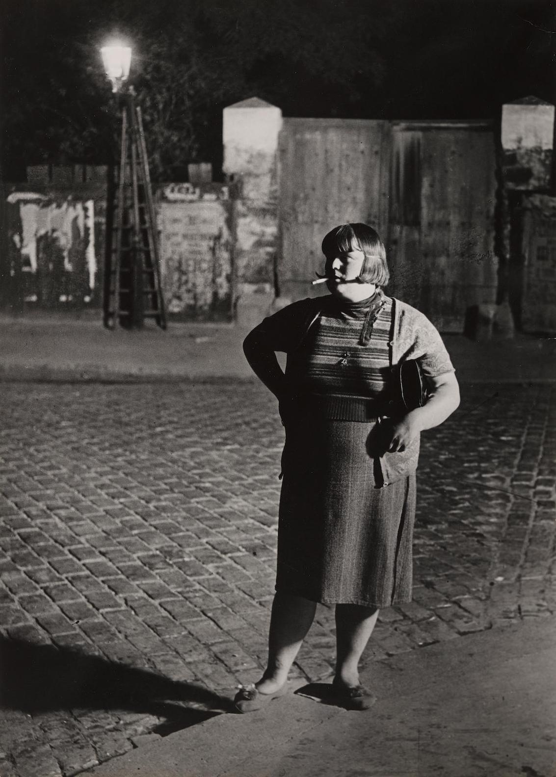 Brassai-Fille De Joie, Quartier Italie-1932