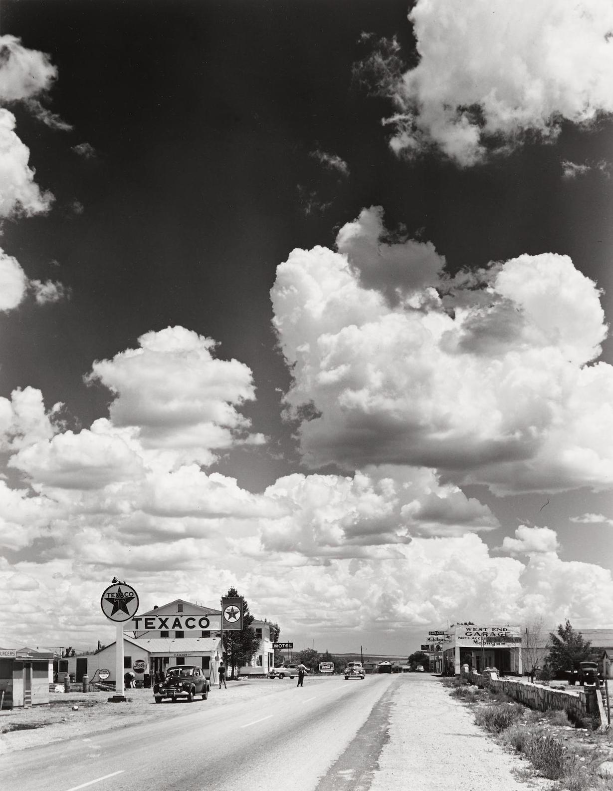 Andreas Feininger-Route 66, Arizona-1947