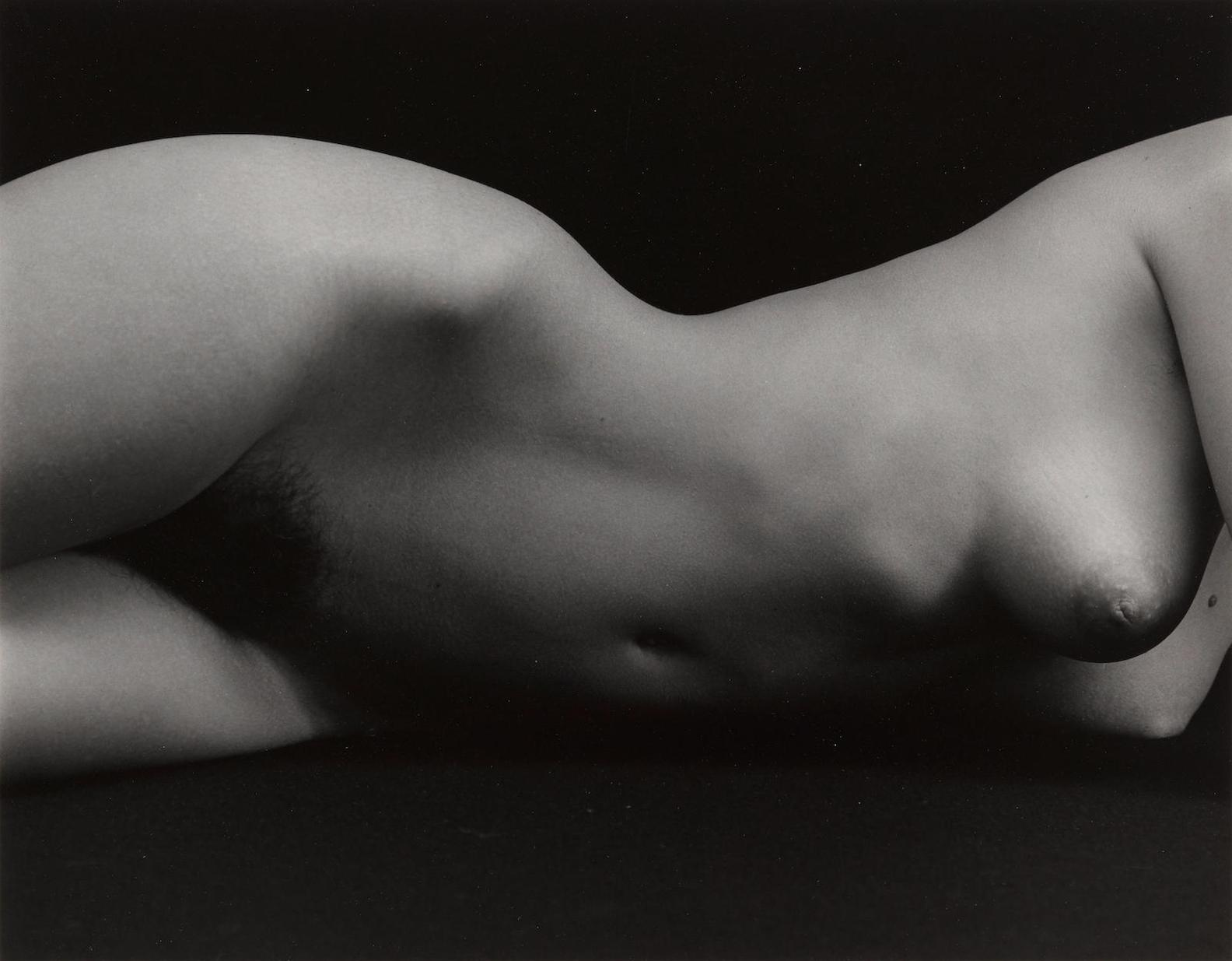 Brett Weston-Nude-1975