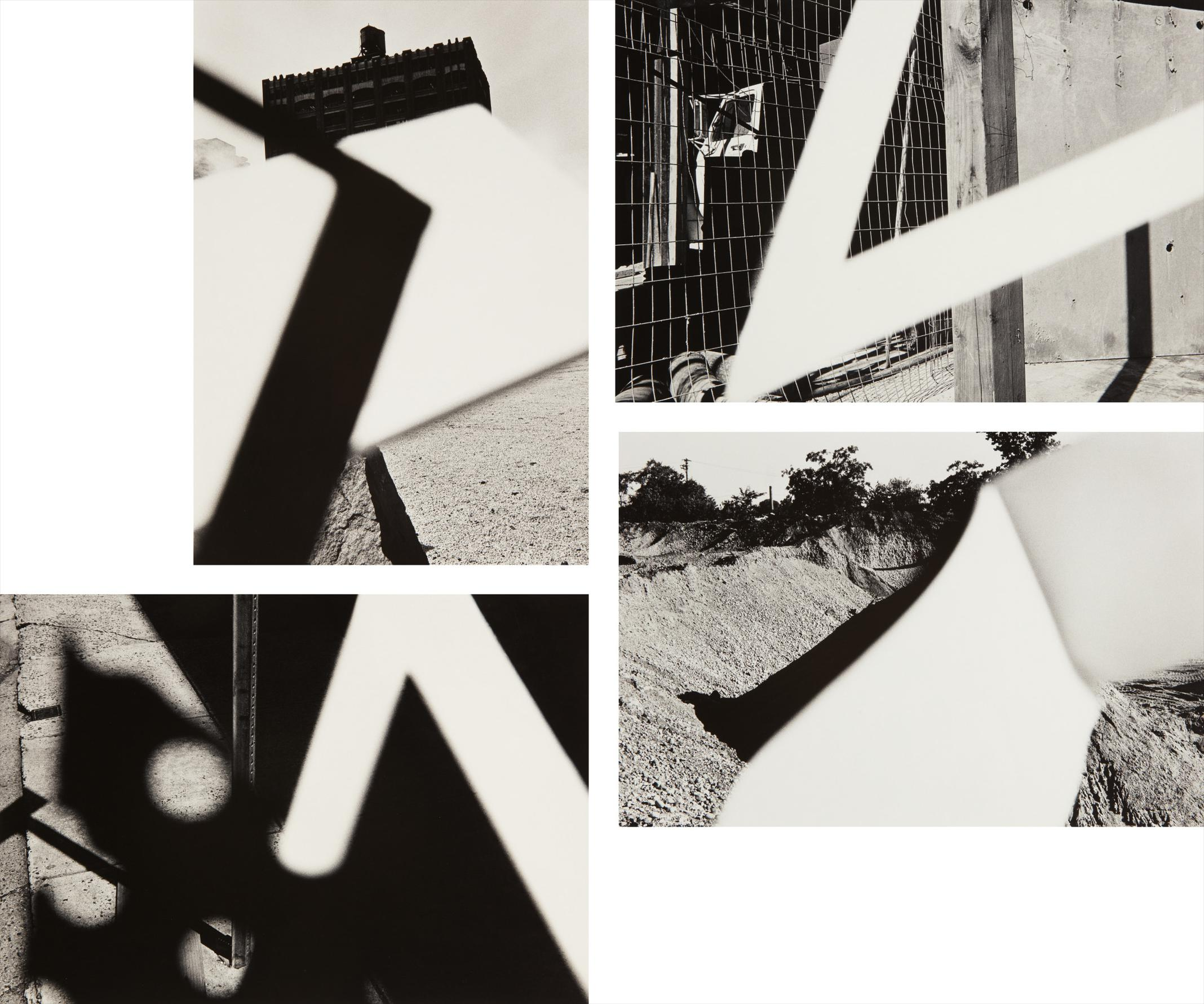 Ray Metzker-Selected Images From Pictus Interruptus-1980