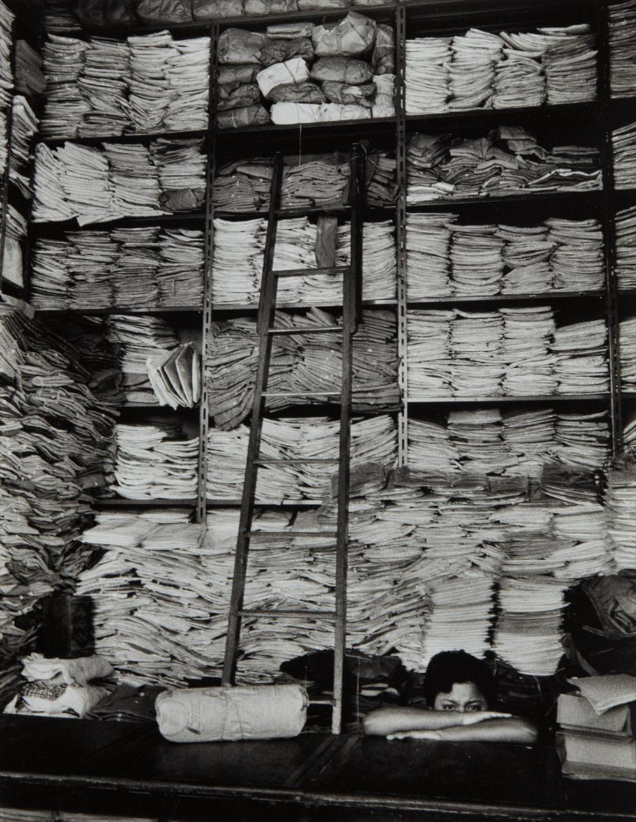 Alfred Eisenstaedt-Fabric Shop In Guayaquil, Ecuador-1958