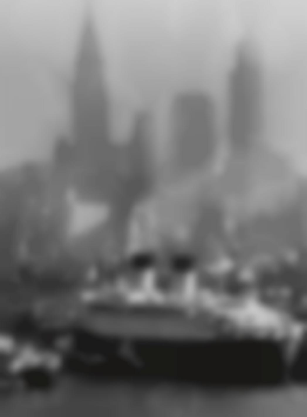 Andreas Feininger-Queen Elizabeth In New York Harbor-1946
