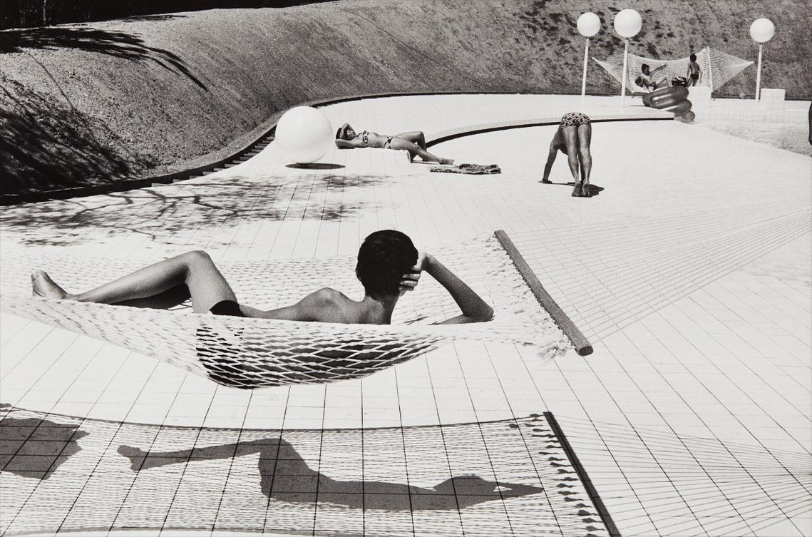 Martine Franck-Swimming Pool Designed By Alain Capeilleres, La Brusc, South Of France-1976