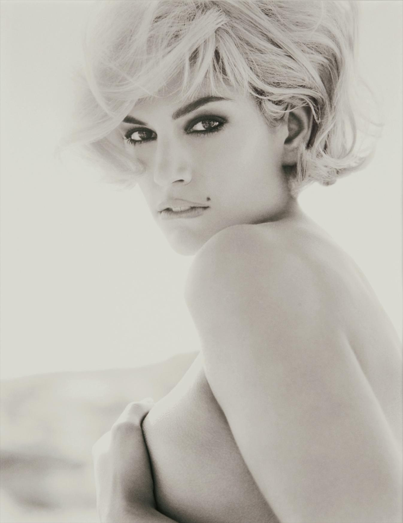 Herb Ritts-Cindy Crawford - Blonde Malibu-1993