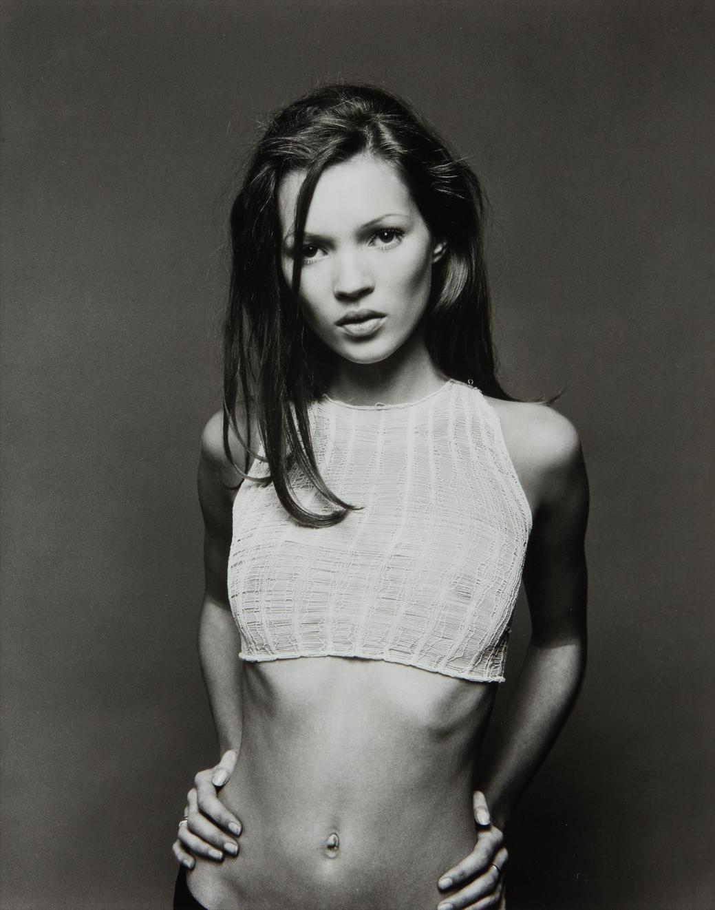 Sante D'Orazio-Kate Moss, West Village, Nyc-1992