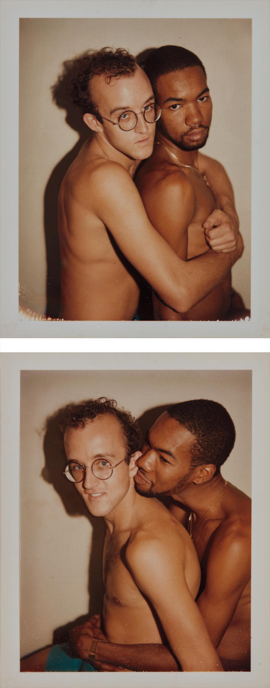 Andy Warhol-Keith Haring & Juan Dubose-1983