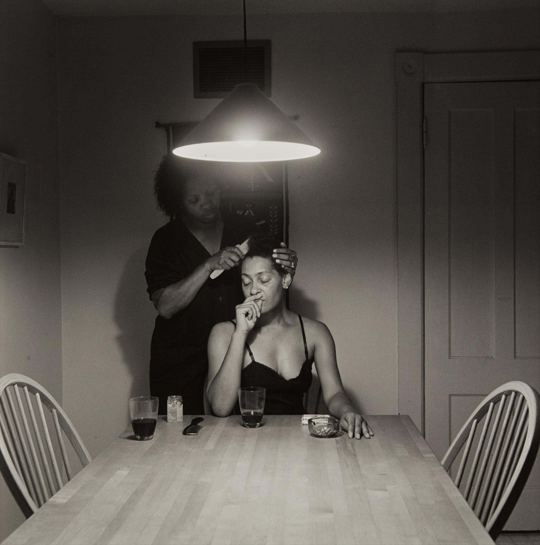 Carrie Mae Weems-Untitled (Mother And Daughter)-1990