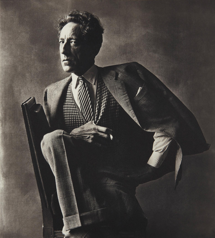 Irving Penn-Jean Cocteau, Paris-1948