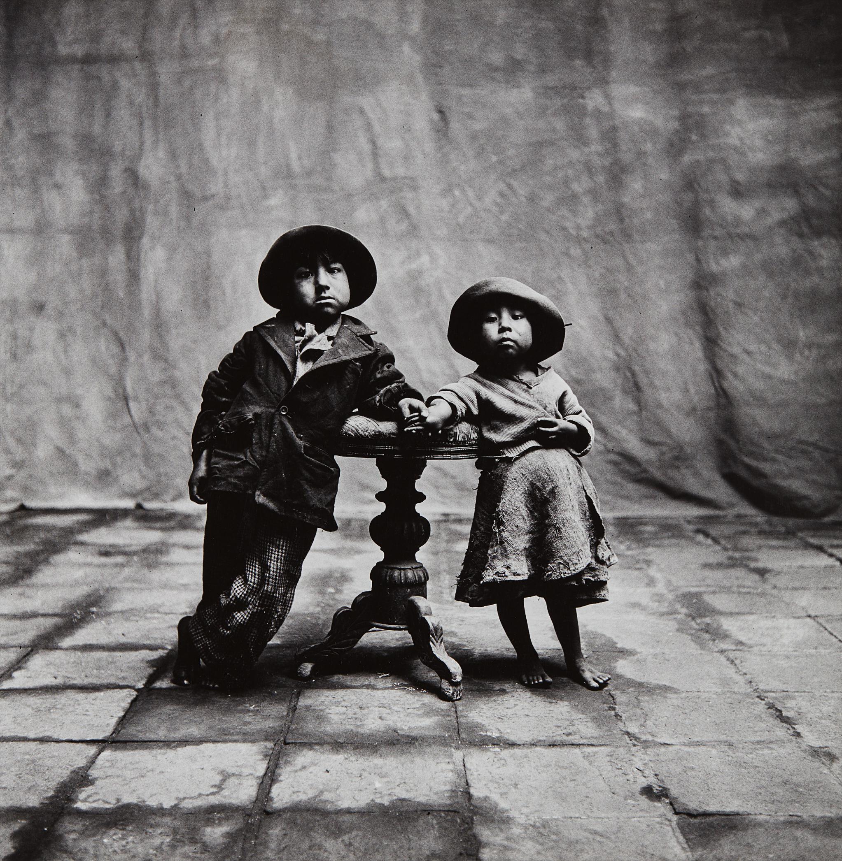 Irving Penn-Cuzco Children, Peru-1948