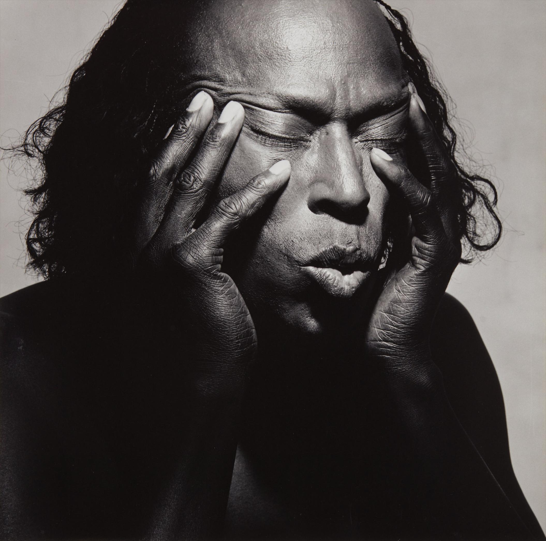 Irving Penn-Miles Davis, New York, July 1-1986