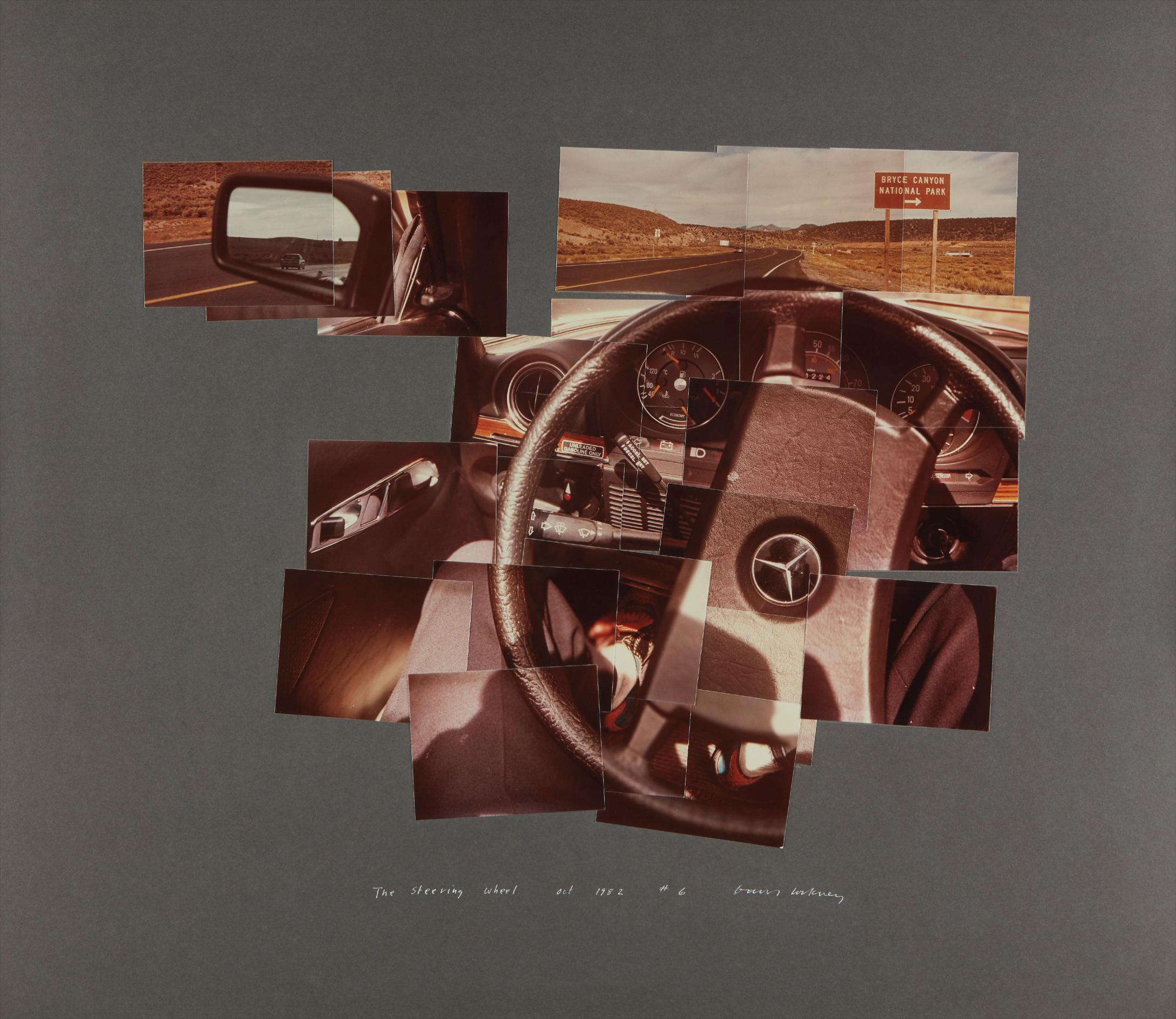 David Hockney-The Steering Wheel, Oct.-1982