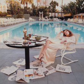Terry O'Neill-Faye Dunaway, Beverly Hills-1977