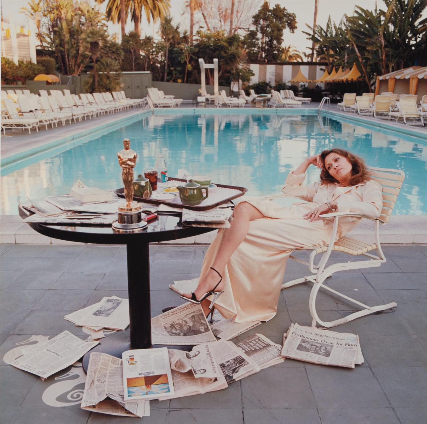 Terry O'Neill-Faye Dunaway, Beverly Hills-1977