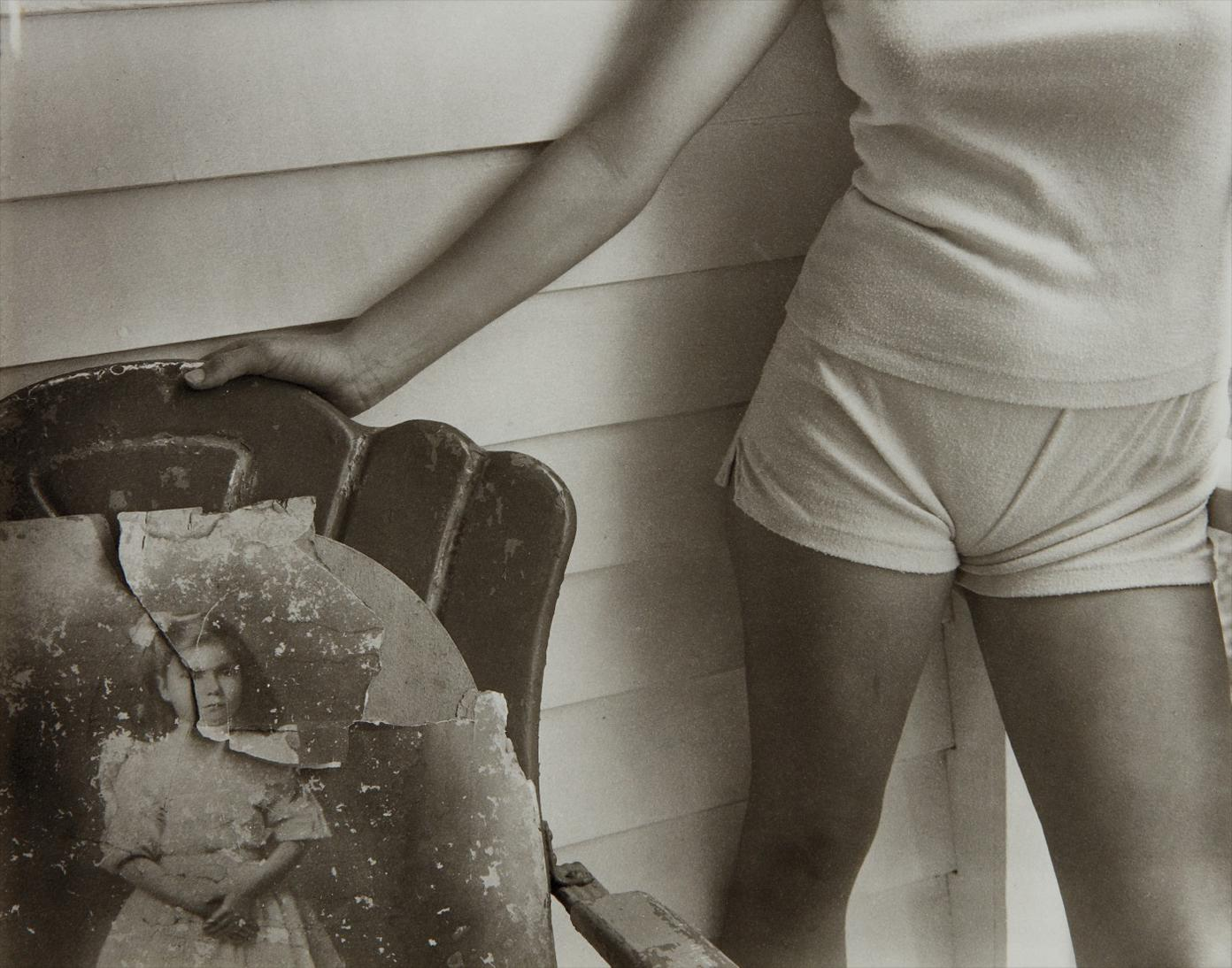 Sally Mann-Sherry And Sherrys Grandmother, Both At Twelve Years Old-1983