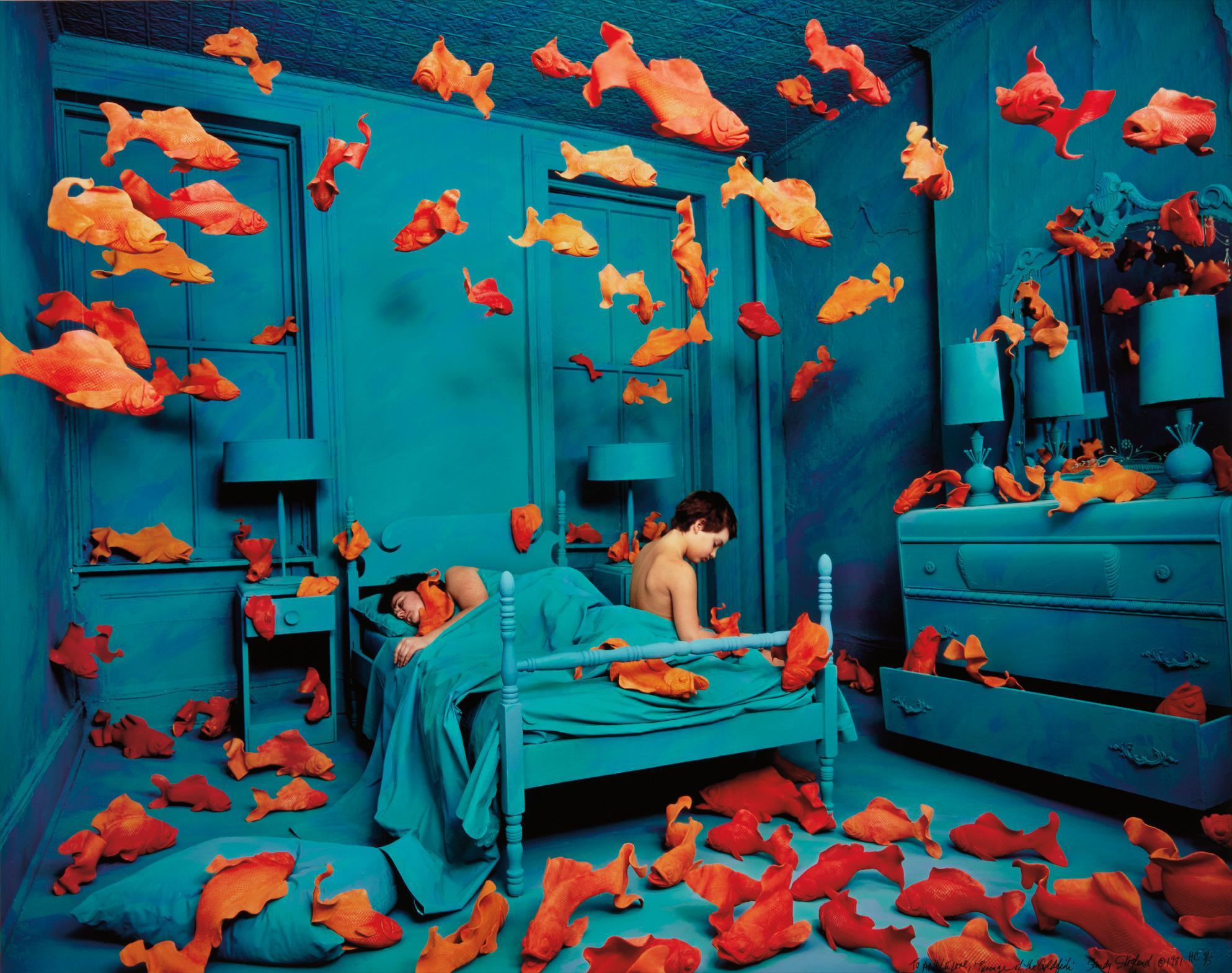 Sandy Skoglund-Revenge Of The Goldfish-1980