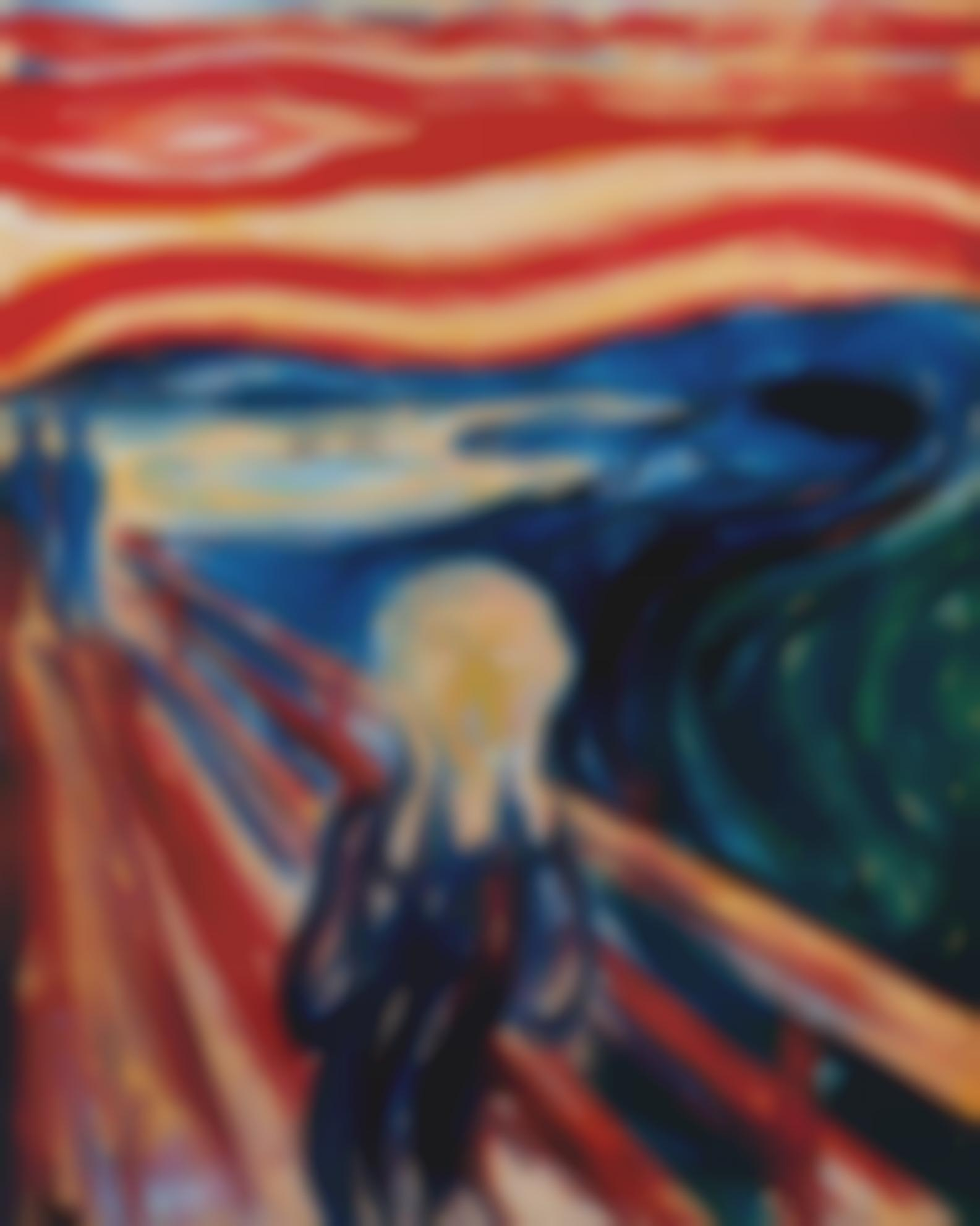 The Scream, After Edvard Munch From Pictures Of Pigment