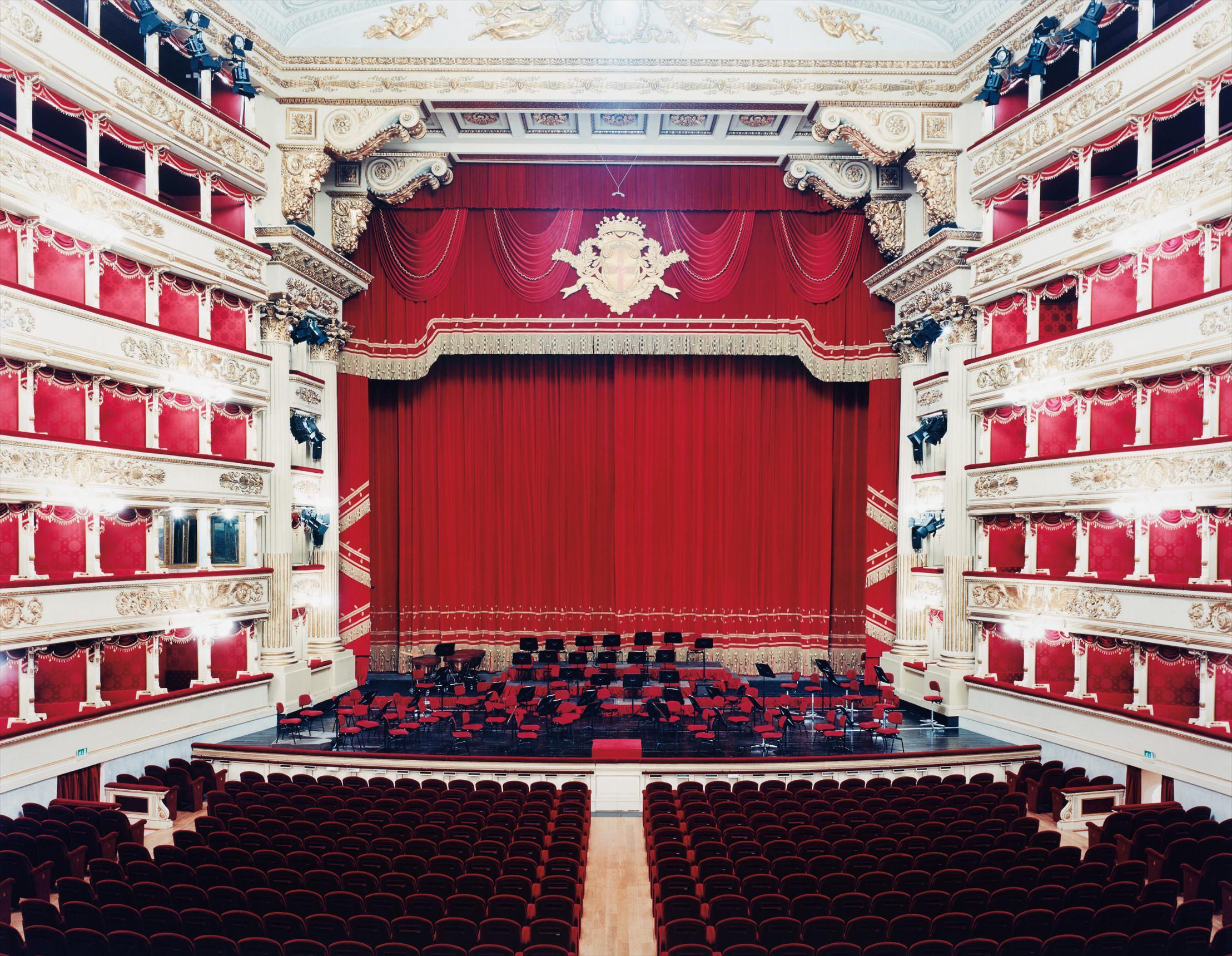 Candida Hofer-Teatro Alla Scala Milano V-2005