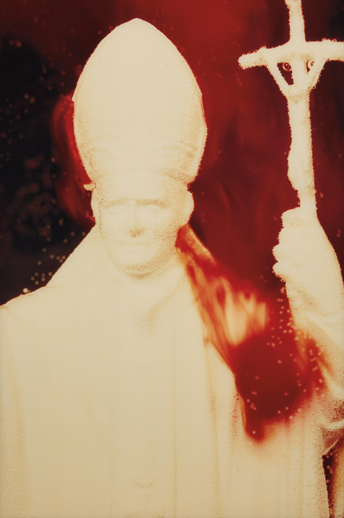 Andres Serrano-White Pope From Immersions-1990